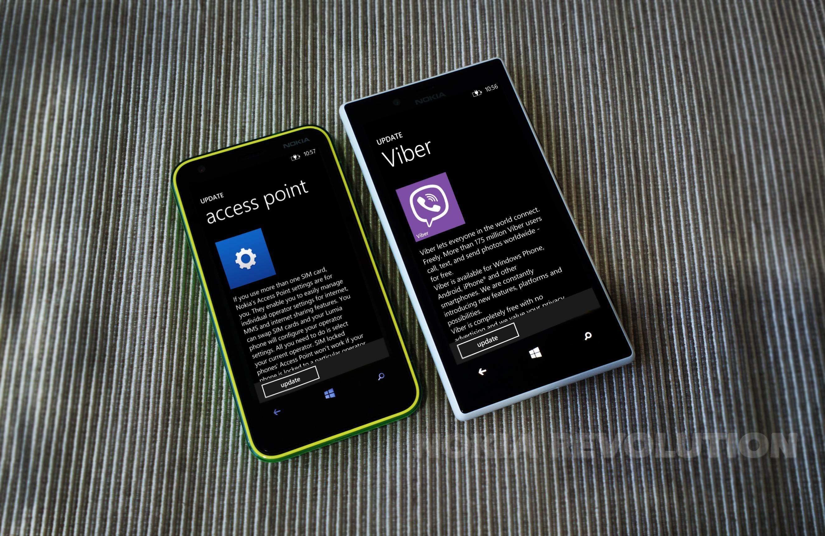 Lumia App Refresh: Viber and Nokia Access Point | nokiarevo